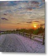 Enter Paradise- Avalon New Jersey Metal Print
