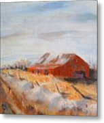 Entering Choteau County Metal Print