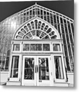 Entering The Greenhouse Metal Print