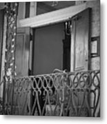 Entrance 25 Piccadilly Metal Print