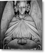 Entrance Angel Metal Print