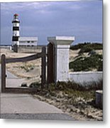 Entrance Of A Lighthouse, Cape Recife Metal Print