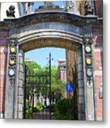 Entrance Of Bornhof Metal Print
