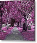 Entrance To A Cemetery Metal Print