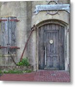 Entrance To An Old Chandlery Metal Print