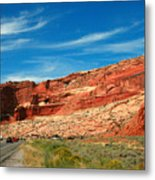 Entrance To Arches National Park Metal Print