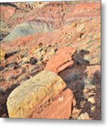 Entrance To Cohab Canyon Metal Print