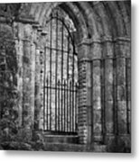 Entrance To Cong Abbey Cong Ireland Metal Print