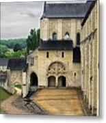 Entrance To Fontevraud Abbey Metal Print
