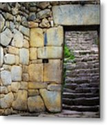 Entrance To Machupicchu Metal Print