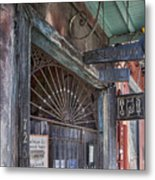 Entrance To Preservation Hall, New Orleans Metal Print