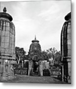 Entrance To The Mukteswar Temple In Bhubaneswar India Metal Print