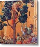 Entry Into Jerusalem Fragment 1311 Metal Print