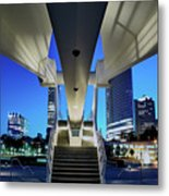 Entry To The City Metal Print