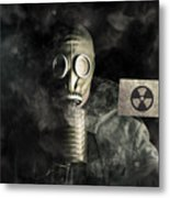 Nuclear Threat Metal Print