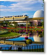 Epcot - Disney World Metal Print by Michael Tesar