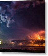 Epic Nebraska Lightning 004 Metal Print