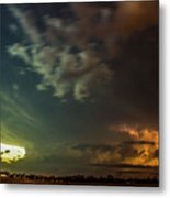 Epic Nebraska Lightning 006 Metal Print