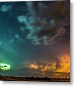 Epic Nebraska Lightning 008 Metal Print
