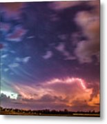 Epic Nebraska Lightning 009 Metal Print