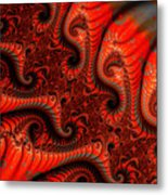 Epidermal Emancipation Metal Print