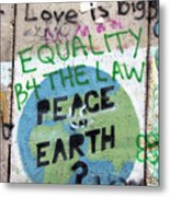 Equality Before The Law Metal Print