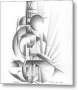 Equilibre Metal Print
