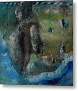 Equilibrium In A Delusional Mind Metal Print
