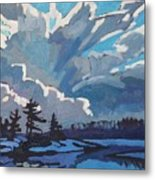 Equinox Cold Front Metal Print by Phil Chadwick