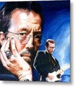 Eric Clapton Blues Lake Metal Print