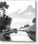 Erie Canal, 1837 Metal Print