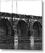 Erie Canal Aqueduct  Metal Print
