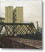 Erie Street Swing Bridge Metal Print