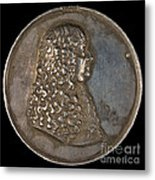 Ernst Bogislaus, Duke Of Croy And Arschott, Prince Of The Holy Roman Empire [obverse] Metal Print