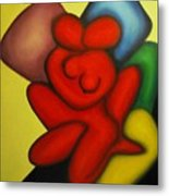 Erotic Embrace Metal Print