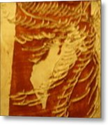 Eruptions Of The Mind - Tile Metal Print