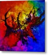 Eruptive Force Metal Print