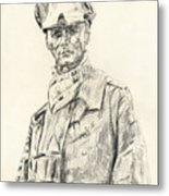 Erwin Rommel Metal Print
