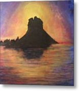 Es Vedra Sunset I Metal Print