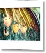 Escape From The Rain Metal Print