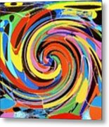 Escaping The Vortex Metal Print
