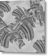 Escheresque Nyc Metal Print