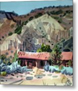 Espanola On The Rio Grande Metal Print