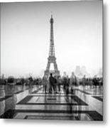 Esplanade Du Trocadero Metal Print