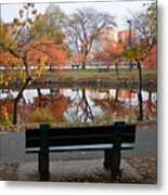 Esplanade View Metal Print by Susan Cole Kelly