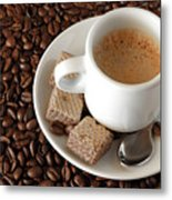 Espresso Coffee Metal Print