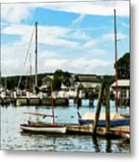 Essex Ct Marina Metal Print