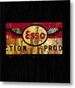 Esso Circa 1920's Metal Print