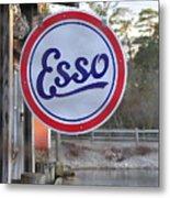 Esso Sign  Metal Print