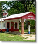 Esso Station Metal Print